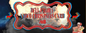 Bell Family Video Christmas Card 2018