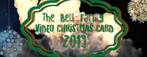 Bell Family Video Christmas Card 2019